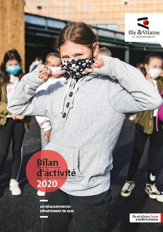 Couverture Bilan d'activité 2020