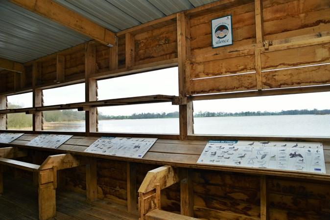 observatoire des oiseaux du plan d'eau Chatillon en vendelais © FH