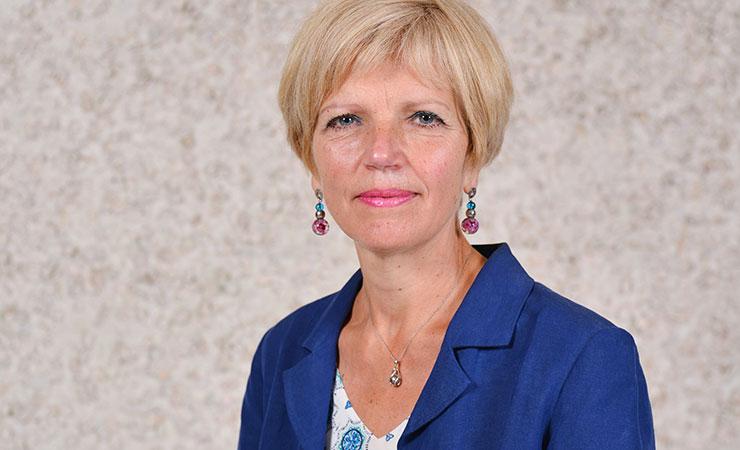 Portrait d'Anne-Françoise Courteille