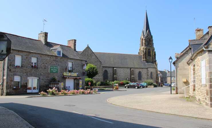 Centre-bourg de Guguen