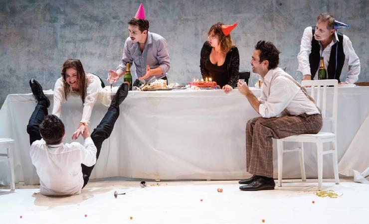 """Spectacle de théâtre """"Ionesco suite"""" d'Emmanuel Demarcy-Mota"""