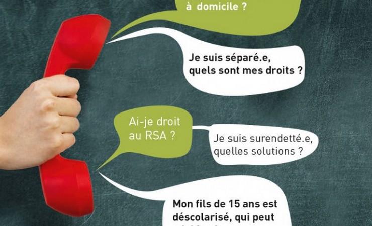 Contacter Info sociale en ligne (ISL) par téléphone