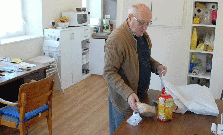 Le Département encourage le développement des logements adaptés pour les personnes âgées encore autonomes, comme alternative à la maison de retraite. © Thomas Crabot