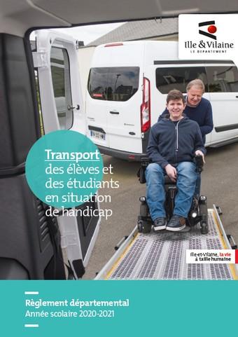 transport d'un élève en situation de handicap