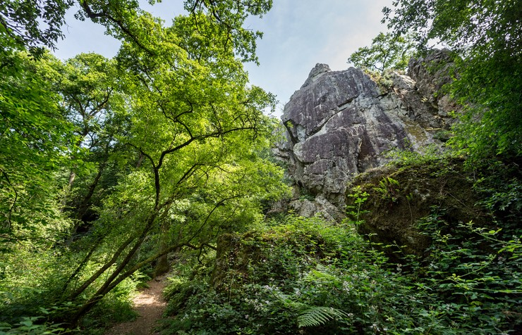 Saut Roland, Dompierre-du-Chemin