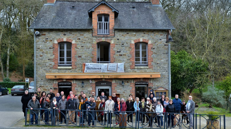 Baranoux à Saint-Senoux