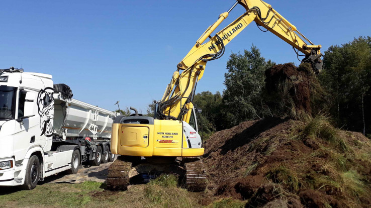 chantier enlèvement crassule landes de jaunouse