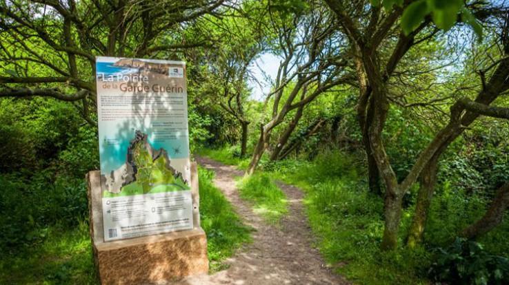 Sentier de la pointe de la Garde Guérin à Saint-Briac, un espace naturel d'Ille-et-Vilaine