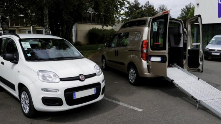 véhicules adaptés