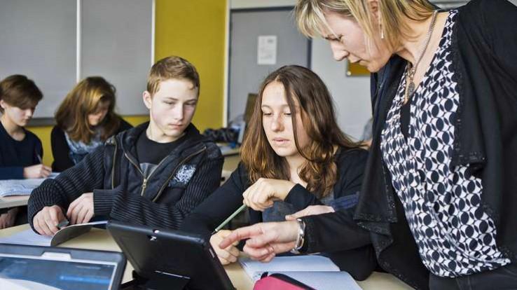 Salle de classe - numérique