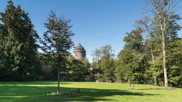 parc de la tour Du Guesclin, Grand-Fougeray