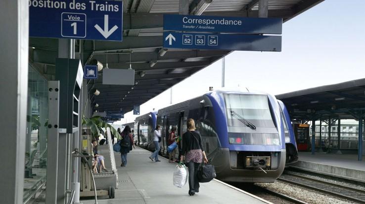 La gare de Rennes, futur pôle d'échanges multimodal local et régional