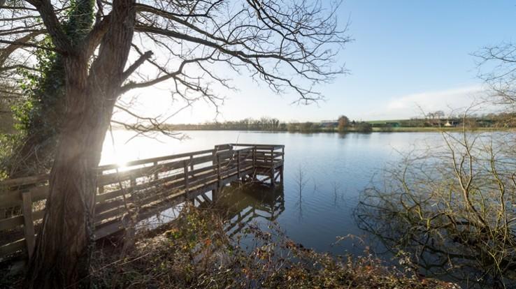 L'étang de Marcillé-Robert © E. Berthier