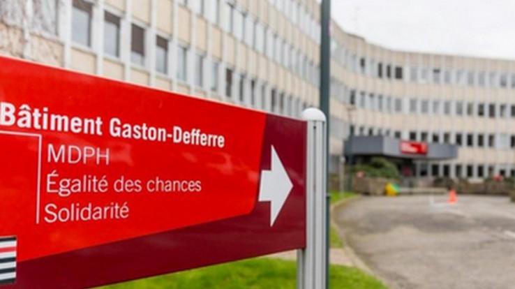 Bâtiment de la Mdph à Rennes