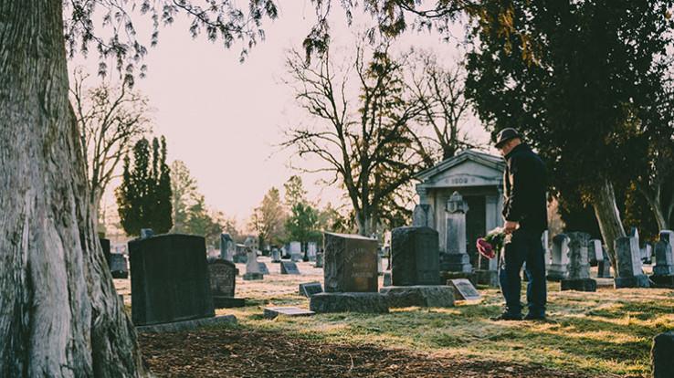 photo illustration cimetière obsèques