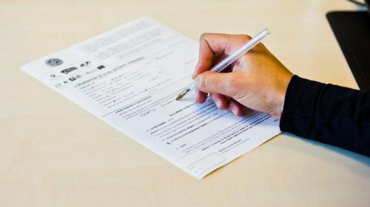 Remplissage du formulaire de demande de RSA