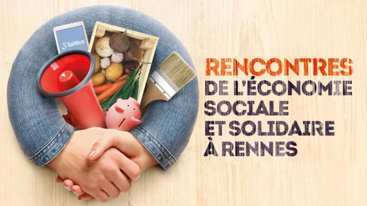 Rencontres de l'économie sociale et solidaire à Rennes