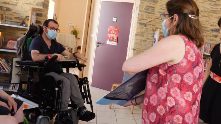 atelier lecture pour les personnes en situation de handicap