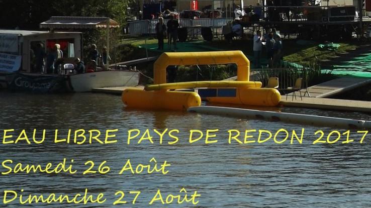 Redon, capitale de la nage en eau libre les 26 et 27 août 2017