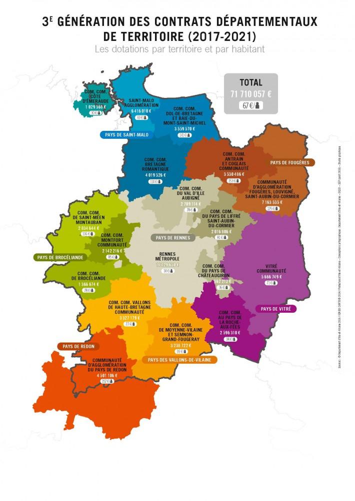 Carte Bretagne Romantique.Contrats Departementaux De Territoire Le Departement Vote
