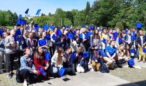 80 collégiens à l'Hôtel du Département pour une journée d'information sur l'Europe
