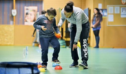 Trois associations sportives accueillent les jeunes handicapés