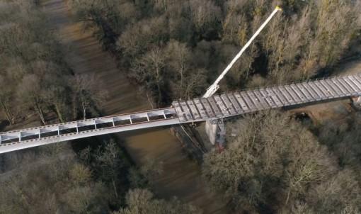 90 collégiens visitent le viaduc de Saint-Médard