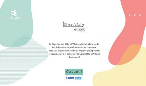 Site 2035.ille-et-vilaine.fr