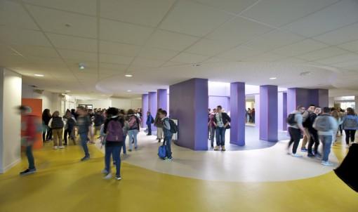 Au collège Gérard de Nerval, les élèves ont fini l'année dans un établissement fraichement rénové