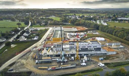 Futur collège de Guipry-Messac :  faites le point sur l'avancement du chantier  !