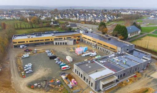 Futur collège de Laillé : le point sur l'avancement des travaux