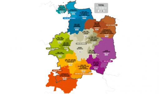 Contrats départementaux de territoire :  72 millions € pour les projets des intercommunalités d'Ille-et-Vilaine