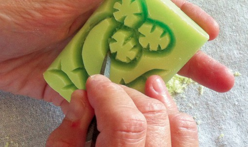 Design sur savons bretons ©FranceLions