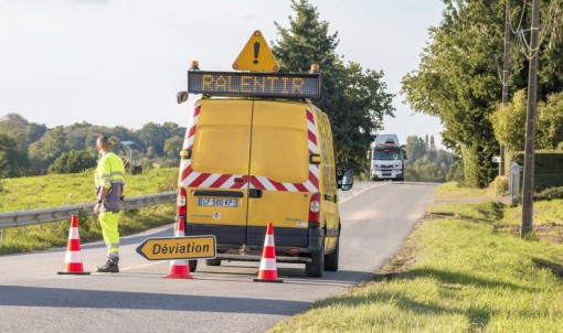 Travaux sur la RD 4 au sud de Dol-de-Bretagne du 1er au 26 juillet 2019
