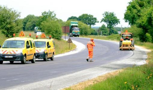 Travaux sur la RD 73 à Combourg du 15 au 17 juillet