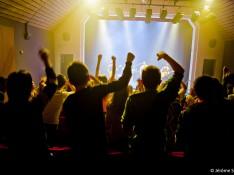 foule concert