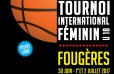 Tournoi international féminin de basket à Fougères 2017