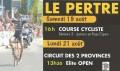 Circuit des 2 provinces - Course cycliste élite open au Pertre