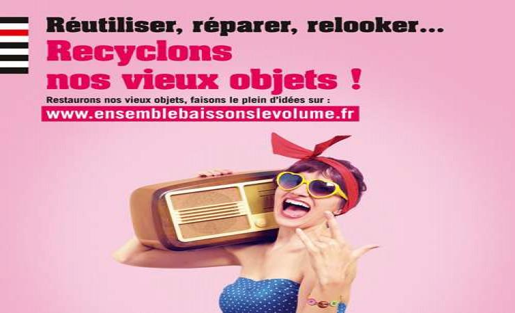 """Campagne """"Ensemble baissons le volume de nos déchets"""""""