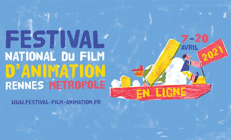 affiche festival animation