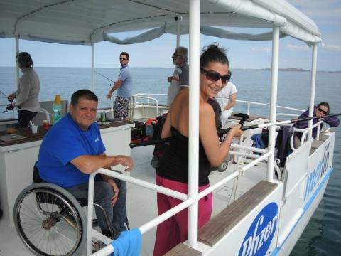 Troisième embarquement pour Myriam, qui se sent « comme à la maison » sur L'Intouchable.