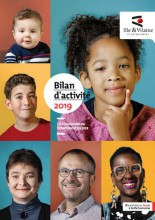 couverture Bilan d'activité 2019