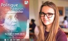 exposition « Politique : nom singulier féminin », présentée jusqu'au 17 mars au Parlement de Bretagne.