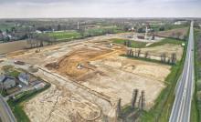 Vue du chantier en mars 2021