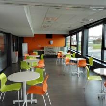 Le stade Robert Poirier dispose d'un espace modulable pour organiser vos réunions ou colloques