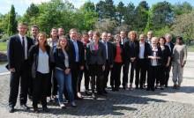 Photo de groupe, Union de la Droite et du Centre