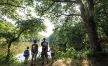 Le parc de la Higourdais à Epignac