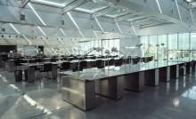 Salle de lecture des archives