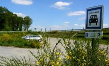 L'Ille-et-Vilaine compte environ 80 aires de covoiturage © D.R.