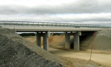 LGV, pont ferroviaire en construction
